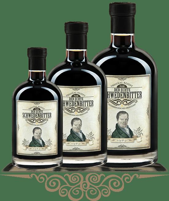 Was ist Schwedenbitter? – Die Flaschen
